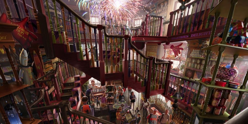 06_Weasleys Interior